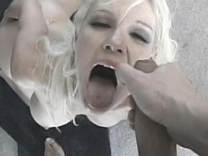 Blonde POV Facial Cumshot: Creme De La Face 50